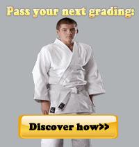 Judo grading 2