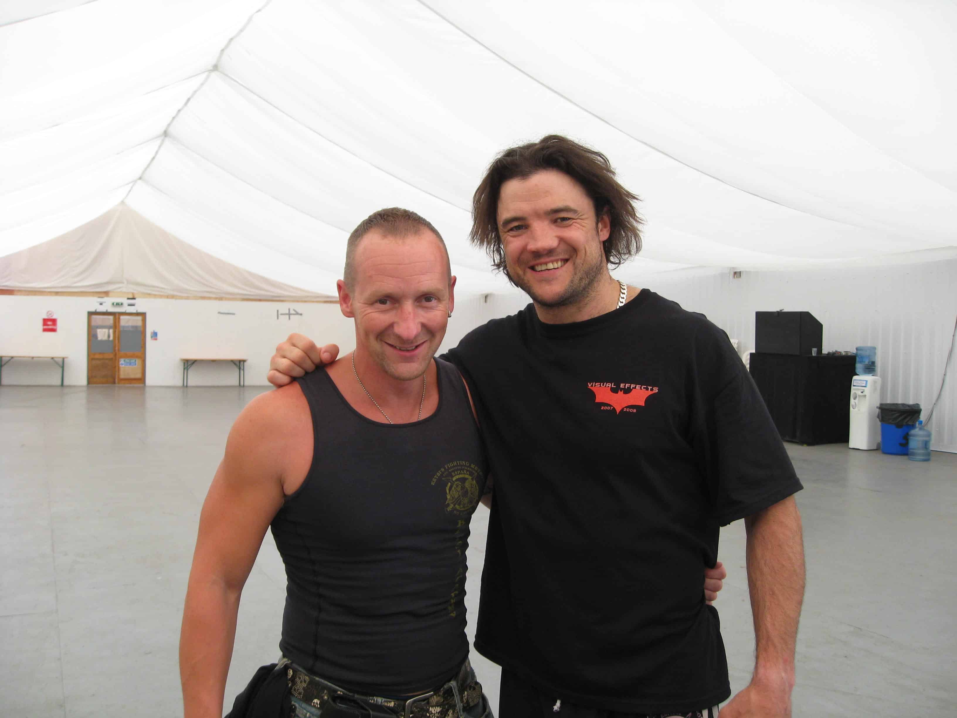 Andy and Buste Reeves - Batman Stunt Double