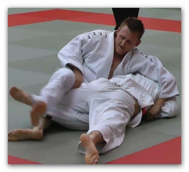 Me in a Judo event