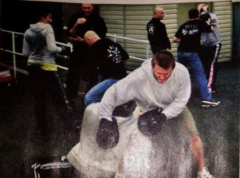 Footage of Me Training at a Seminar