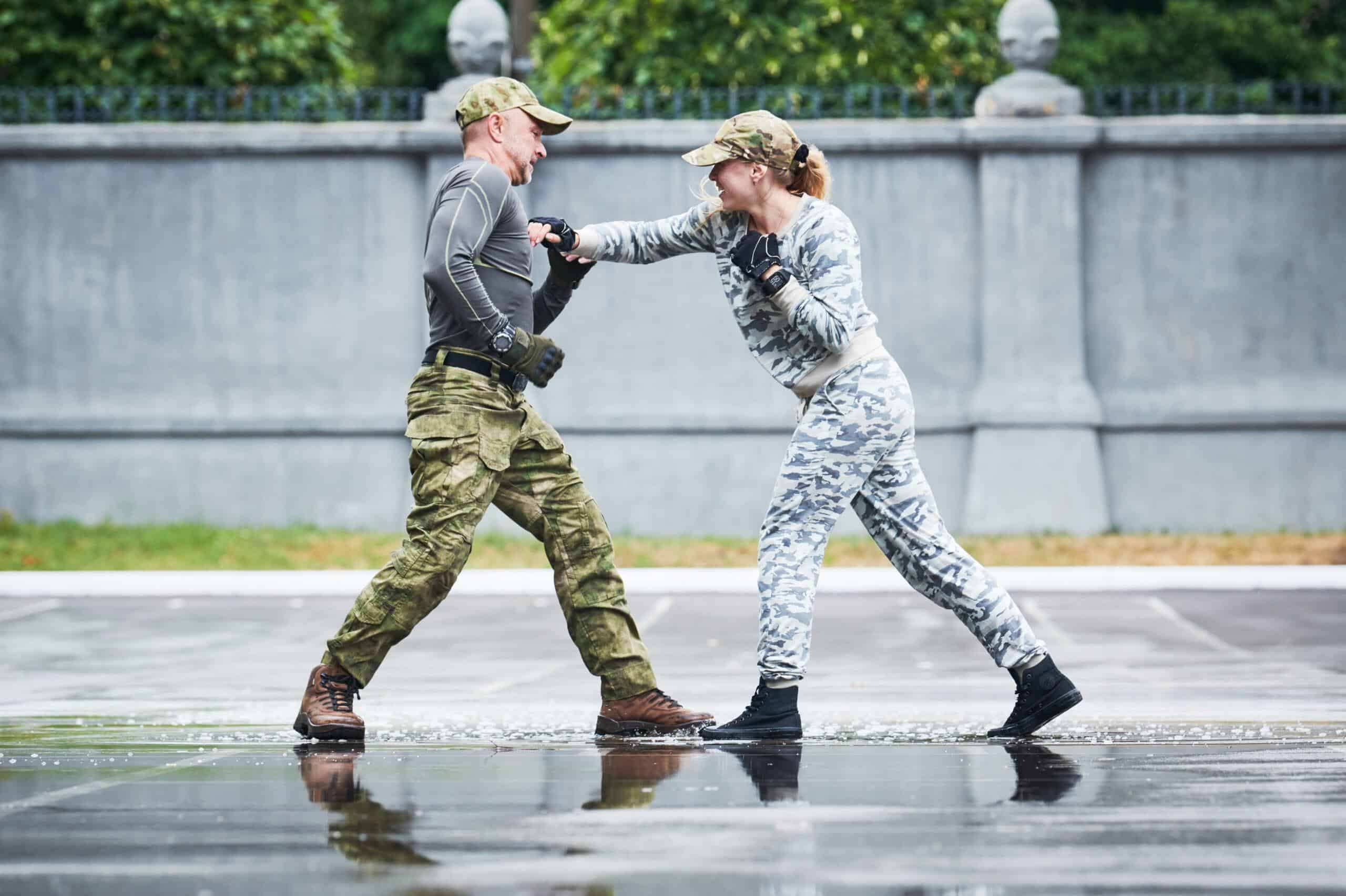 The best martial arts for self defence
